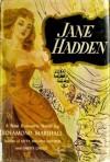 Jane Hadden - Rosamond Van Der Zee Marshall