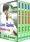 LOVE QUAKES: BOXED SET (BOOKS 1-4) - J.S. Luxor