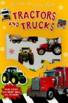 Sticker Activity Pack Tractors and Trucks [With 4 Scenes] - Make Believe Ideas
