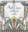 Art Deco Patterns to Color - Emily Bone