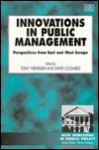 Innovations in Public Management: Perspectives from East and West Europe - Tony Verheijen