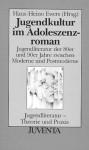 Jugendkultur Im Adoleszenzroman: Jugendliteratur Der 80er Und 90er Jahre Zwischen Moderne Und Postmoderne - Hans-Heino Ewers