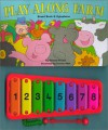 Play-Along Farm: Board Book & Xylophone [With Xylophone] - Richard Powell, Simone Abel