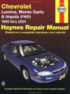 Chevrolet Lumina, Monte Carlo and Front-Wheel Drive Impala Automotive Repair Manual: 1995 Through 2001 (Hayne's Repair Manual 24048) - Jeff Kibler, Jay Storer, John Harold Haynes