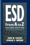 Esd from A to Z: Electrostatic Discharge Control for Electronics - John M. Kolyer, Donald Watson