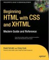 Beginning HTML with CSS and XHTML: Modern Guide and Reference - David Schultz, Craig Cook