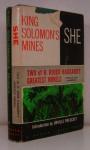 King Solomon's Mines/She - H. Rider Haggard, Orville Prescott