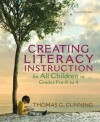 Creating Literacy Instruction for All Children in Grades Pre-K to 4 (2nd Edition) (Books by Tom Gunning) - Thomas G. Gunning