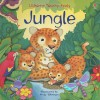 Jungle Touchy-feely Board Book (Luxury Touchy-Feely Board Books) - Fiona Watt, Andy Elkerton