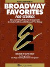Broadway Favorites for Strings: Piano Accompaniment - Bernard Scott