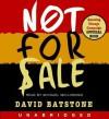 Not For Sale (Audio) - David Batstone, Michael McIlhonnie