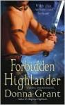Forbidden Highlander (Dark Sword #2) - Donna Grant
