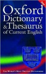 Oxford Dictionary and Thesaurus of Current English - Sara Hawker, Alan Spooner