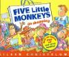 Five Little Monkeys Go Shopping - Eileen Christelow