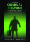 Criminal Behavior: A Psychosocial Approach (8th Edition) - Curt R. Bartol, Anne M. Bartol