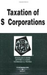 Taxation of S Corporations in a Nutshell (In a Nutshell (West Publishing)) - Douglas A. Kahn