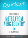 Quicklet on Bill Bryson's Notes from a Big Country - Peg Robinson