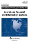 International Journal of Operations Research and Information Systems, Vol. 2, No. 3 - John Wang