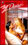 Her Torrid Temporary Marriage - Sara Orwig