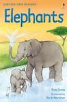 Elephants (Usborne First Reading) - Kate Davies, Rocio Martinez