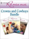 Harlequin Romance Bundle: Crowns and Cowboys - Natasha Oakley, Judy Christenberry, Melissa James