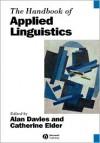 The Handbook of Applied Linguistics - Glyn Davies, Alan Davies
