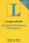 Langenscheidt's Universal Portuguese Dictionary - Langenscheidt