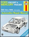 Ford Escort & Mercury Tracer Automotive Repair Manual: All Ford Escort & Mercury Tracer Models : 1991 Through 1996 (Haynes Auto Repair Manuals Series) - Alan Ahlstrand, John Harold Haynes