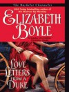 Love Letters from a Duke - Elizabeth Boyle