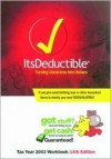 It's Deductible: Tax Year 2003 Workbook - Income Dynamics, Jeff Schnepper