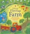Flip Flap Farm (Usborne Flip Flap Board Books) - Katie Daynes, Simone Abel