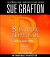 B Is For Burglar (Audio) - Mary Peiffer, Sue Grafton
