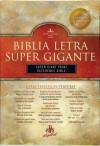 RVR 1960 Biblia Letra Súper Gigante con Referencias, borgoña piel fabricada - B&H Espanol Editorial Staff