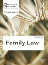 Family Lawcards 2012-2013 - Routledge