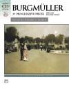 Burgm Ller -- 25 Progressive Pieces, Op. 100: Book & CD - Friedrich Burgmüller