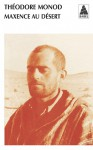 Maxence au désert - Théodore Monod