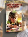 Annual Editions: Early Childhood Education - Karen Menke Paciorek