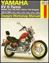 Haynes Yamaha Xv V Twins 1981 To 1994: Xv535,7 Oo,750,920,1000 & 1100 (Haynes Motorcycle Repair Manuals) - Alan Ahlstrand, John Harold Haynes