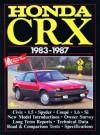 Honda CRX' 1983-1987 Brooklands Road Test Book - R.M. Clarke