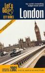 Let's Go London 2002 - Let's Go Inc.