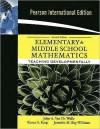 Elementary and Middle School Mathematics: Teaching Developmentally. - John A. Van de Walle