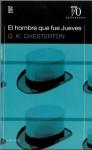 El hombre que fue jueves - G.K. Chesterton