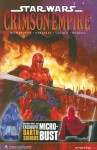 Star Wars Crimson Empure Book & Bust Up Figure Set - Mike Richardson, Randy Stradley