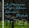 A Midsummer Night's Dream Director's Playbook - Sasha Newborn, William Shakespeare