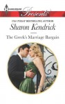 The Greek's Marriage Bargain (Harlequin Presents) - Sharon Kendrick