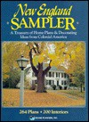 New England Sampler: A Treasury of Home Plans and Decorating Ideas from Colonial America: 264 Plans, 200 Interiors - Home Planners Inc, Home Planners