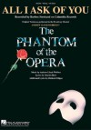 All I Ask of You (from The Phantom of the Opera) (Sheet Music) - Barbra Streisand