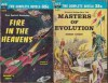 Masters of Evolution/Fire in the Heavens - Damon Knight, George O. Smith