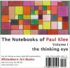 The Thinking Eye: The Notebooks of Paul Klee. Volume 1 CD-ROM - Paul Klee