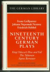 Nineteenth Century German Plays - Egon Schwarz
